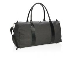 Víkendová taška BAIT s nastavitelným ramenním popruhem - černá