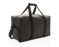Víkendová taška MOLLS z hladkého PU - černá