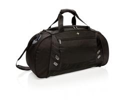 Značková sportovní taška Swiss Peak GAWPING s prostorem pro uložení obuvi - černá