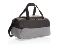Dvoubarevná víkendová taška MAGS s RFID ochranou - šedá