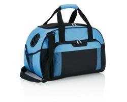 Polyesterová víkendová taška HILLISBURG - modrá / černá