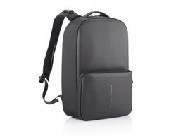Víceúčelový batoh IDAHO s možností rozšíření objemu - černá / černá