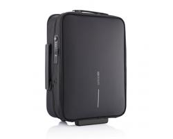 Cestovní kufřík na kolečkách WALED - černá / černá