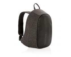 Bezpečnostní batoh CATHY s poplašným zařízením - černá / šedá