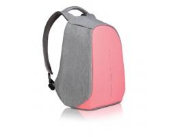 Městský batoh PROTECT s ochranou proti krádeži - růžová