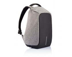 Nedobytný batoh BOBBY XL s kapsami na notebook a tablet - šedá / černá