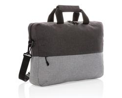 Dvoubarevná taška TOIL s RFID ochranou a prostorem na 15,6