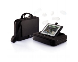 Taška na dokumenty DWIGHT s pouzdrem na tablet - černá