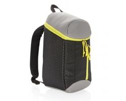 Chladicí batoh NEAT, 10 l - černá / limetková