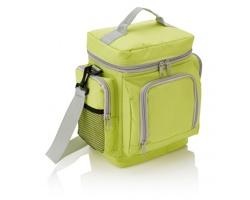 Polyesterová chladící taška PADS s nastavitelným ramenním popruhem - zelená