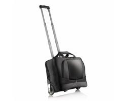 Značkový kufr na kolečkách Swiss Peak BRANCHIA s prostorem na notebook - černá