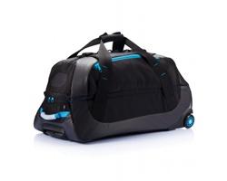 Cestovní taška na kolečkách LEANDRO - modrá