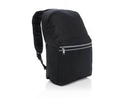 Polyesterový batoh WASHINGTON s reflexními prvky - černá