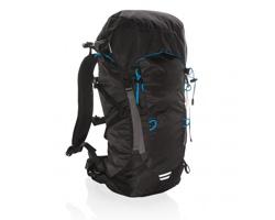Velký turistický batoh GAMBELL, 40 litrů - černá / modrá