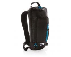 Malý turistický batoh KLEIG, 7 litrů - černá / modrá