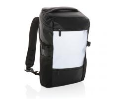 Reflexní batoh na notebook SPECULA - černá