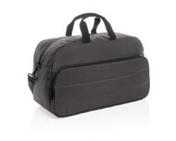 Víkendová taška ASBURY z RPET materiálu AWARE™, kolekce Impact - černá