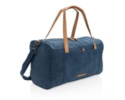 Textilní víkendová taška KOAN s ramenními popruhy - modrá