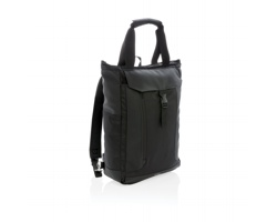 Značkový batoh Swiss Peak AITCH s RFID ochranou - černá