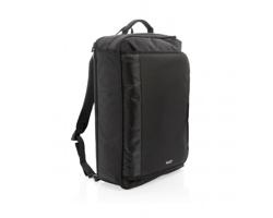 Variabilní rozkládací batoh Swiss Peak TARNS, 4 způsoby nošení - černá