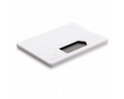 Plastové pouzdro na 1 kartu SPIGELIA - bílá