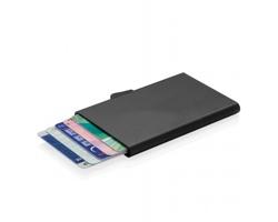 Hliníkové pouzdro PHOENIXVILLE na 7 karet s RFID/NFC ochranou - černá