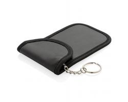 Bezpečnostní pouzdro na klíče od auta MYLAR s RFID ochranou - černá