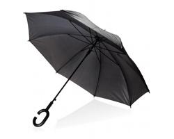 Deštník UTILE s držadlem ve tvaru C - černá