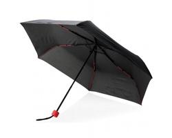 """Šestipanelový bouřkový 21"""" deštník SKIRT - červená"""