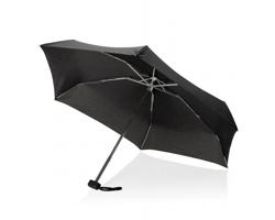 Značkový polyesterový skládací deštník Swiss Peak WILLOW - černá