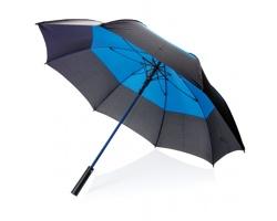 Automatický deštník BEAM s dvojbarevnou klenbou - modrá