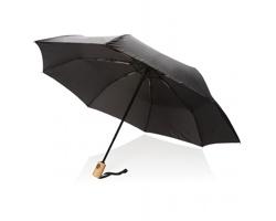 Automatický deštník GRUBS z recyklovaného PET materiálu - černá