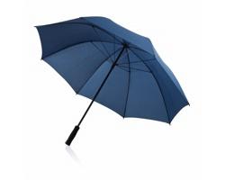 Odolný bouřkový deštník CLOTH s rovnou rukojetí - modrá