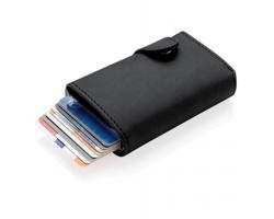 Pouzdro na karty s RFID ochranou IGNACIA - černá