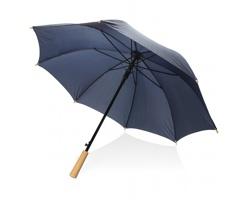 Automatický deštník MELONY z RPET materiálu - tmavě modrá