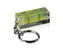 Vodováha GAIL s kroužkem na klíče - zelená
