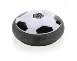 Levitující fotbalový míč GREGOR s barevným LED světlem - černá