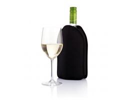 Chladící návlek na víno BARBORA - černá