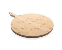 Kulaté bambusové servírovací prkénko BLANCH - hnědá