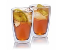 Sada čajových sklenic COUMARIC, 280ml - bílá