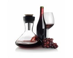 Karafa ILDA na červené víno - černá