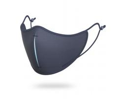 Sada ochranné roušky a filtrů KEENES s pouzdrem - tmavě modrá / modrá