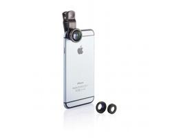 Sada výměnných čoček NAMMA pro fotoaparát chytrého telefonu - černá
