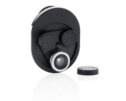 Otočná sada čoček pro mobilní telefon DEAFER, 3v1 - černá