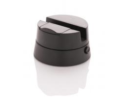 Plastový stojánek na chytrý telefon THUMB pro pořizování panoramatických snímků - černá