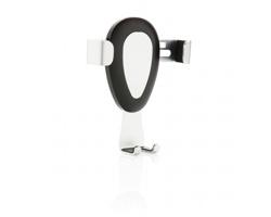 Univerzální držák telefonu BEWARE do ventilace - šedá / černá