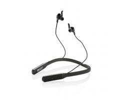 Značková sluchátka Swiss Peak SLAKE s technologií ANC - černá