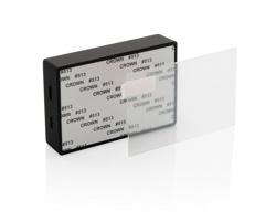 Bezdrátový reproduktor SKIFF s tvrzeným sklem - černá