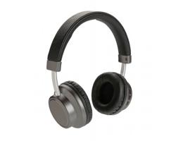 Kovová bezdrátová sluchátka Swiss Peak JOYPOP - šedá / černá
