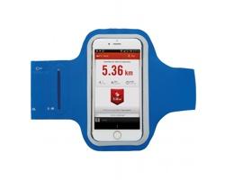 Běžecké pouzdro pro chytrý telefon AURAL s kapsou na drobnosti - modrá